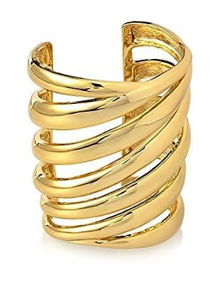 Rachel Zoe Gold Wide Cuff Bracelet