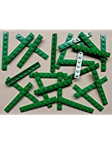 DEAL OF THE DAY!!! DO NOT MISS OUT!x25 NEW Lego Green Baseplates 1x8 Brick Building Plates