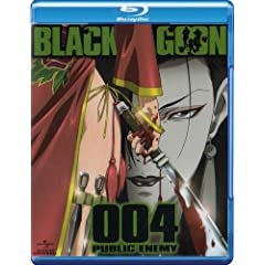 BLACK LAGOON 004 PUBLIC ENEMY [Blu-ray]