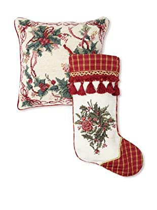 C & F Enterprises Berries & Leaves Pillow Set