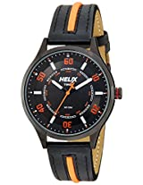 Helix Analog Black Dial Men's Watch - TI03HG02H00