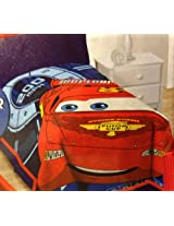Disney Pixar Cars Plush Blanket Lightning McQueen Super Soft 62 x 90