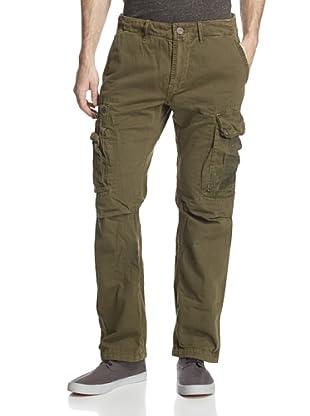 Jet Lag Men's MO-39 Garment-Dyed Cargo Pant (Mustard)