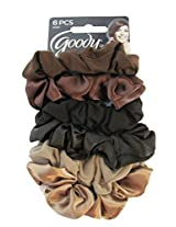 Goody Ouchless Starry Nights Colors Satin Hair Scrunchies - 6 Pk.