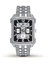 Bulova Swarovski Crystal Mens Watch 96C108