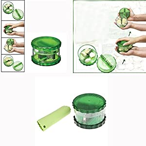 Magic Garlic Peeler cum Dicer
