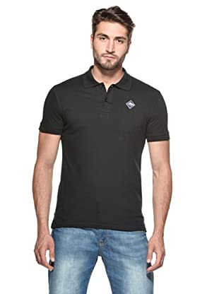 Hot Buttered Polo Basic (Negro)