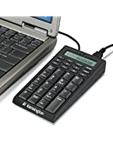 Kensington Notebook Keypad/Calculator with USB Hub, 19-Key Pad (K72274US)