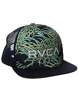 RVCA Men's The Trucker Print Hat, Night Shadow, One Size