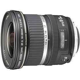 Canon EF-S レンズ 10-22mm F3.5-4.5 USM