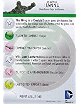 Heroclix DC War of Light #043 Hannu Figure Complete with Character Card