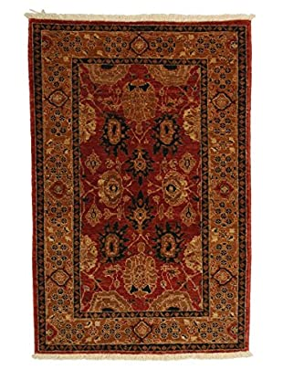Darya Rugs Traditional Oriental Rug, Red, 3' 3