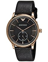 Emporio Armani Analog Black Dial Men's Watch - AR1798