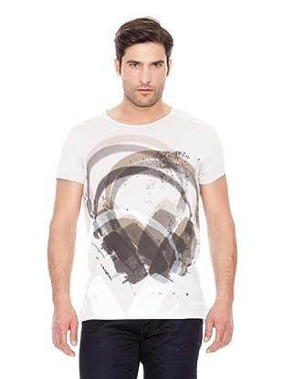 Calvin Klein Jeans Camiseta Estampado M / C (Blanco)