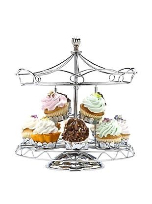 Godinger Carousel Cupcake Holder