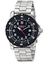 Victorinox Men's 241675 Analog Display Swiss Quartz Silver Watch