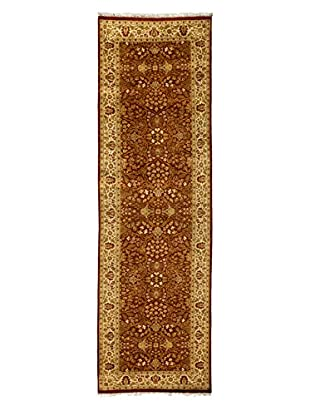 Darya Rugs Traditional Oriental Rug, Rust, 3' 1