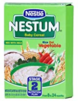 Nestle Nestum Baby Cereal Stage 2 Rice Dal Vegetable Refill - 300 Gms