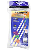 Estes 3 Bandits Model Rocket Kit