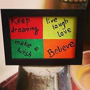 ART BEAT BELIEVE, WISH, SMILE, DREAM