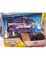 Monster Jam KING KRUNCH #54 purple track ace tires includes monster jam figure