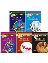IGNOU MA Economics First Year Help Books Combo-MEC1 | MEC2 | MEC3 | MEC4 | MEC105 in English Medium
