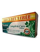 Himalaya Herbals Complete Care Toothpaste - 4x100 g (Buy 3 Get 1 Free)