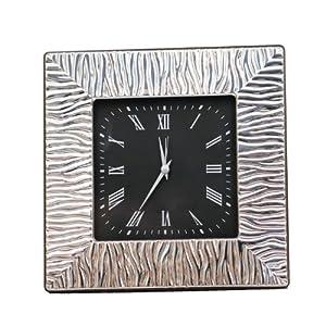 Ornate Sterling Silver Clock
