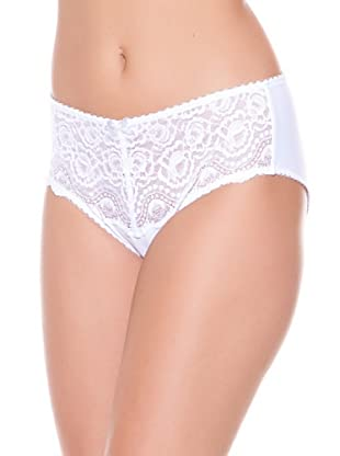 Playtex Slip Flores (Bianco)