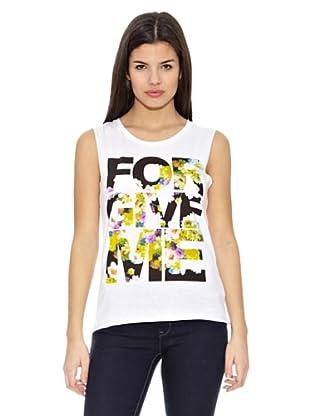 Springfield Camiseta T Texto For Give (Blanco)