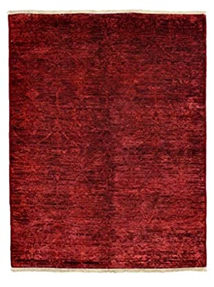 Darya Rugs Overdyed Oriental Rug, Red, 5' 3