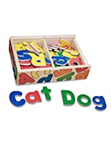 Melissa & Doug 448 Magnetic Wooden Alphabet