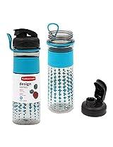 Rubbermaid 20 oz Design Series Plastic Sports Bottle - Cross