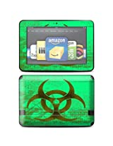 Protective Skin Decal Cover for Amazon Kindle Fire HD 8.9 inch Tablet Sticker Skins Biohazard