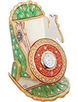 GULSHAN ARTS AND CRAFTS Stone Peacock Mobile Stand (10 cm x 3 cm x 2 cm)