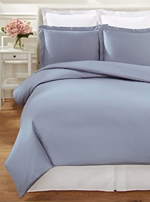 Mélange Home Egyptian Cotton 600 Thread Count Hemstitch Duvet Set
