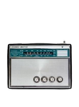 Vintage Channel Master Radio, Black