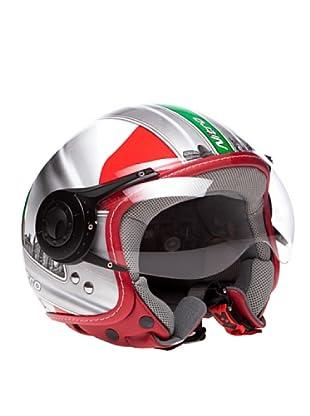 Nitro Casco X548 Italy (Rojo / Blanco / Verde)