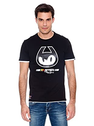 Pepe Jeans T-Shirt Pit Walk Regular (Schwarz)