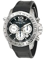 "Raymond Weil Men's 7700-TIR-05207 ""Nabucco"" Titanium Automatic Watch with Black Rubber Band"
