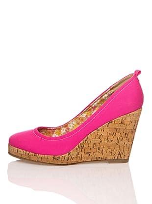 Refresh Zapatos Lona (Fucsia)
