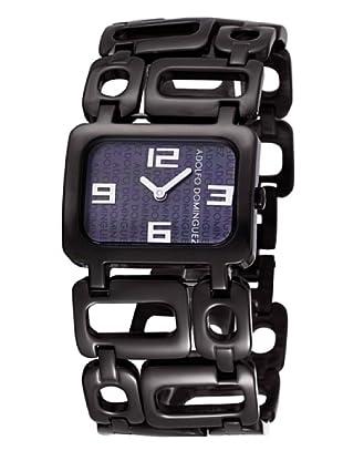 Adolfo Dominguez Watches 14022 - Reloj de Señora cuarzo brazalete metálico Negro