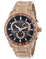 Citizen Men's AT4106-52X  Eco-Drive Perpetual Atomic Clock Synchronization Dress Watch