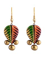 Scorched Earth Everyday Wear Terracotta Earrings ( Multi-Colour )