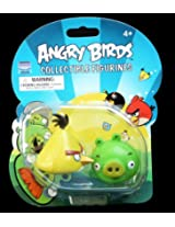 Angry Birds Collectible Figurines - Chuck and Pig