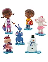 Disney Doc Mcstuffins Collectible 6 Piece Mini Figurine Playset