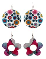 Sharnam Art Shell Dangle & Drop Earring For Women Multi-Colour - sea_ jewe_112.jpg