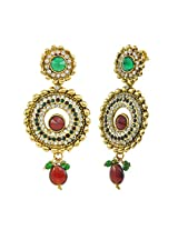 Aakshi Copper Dangle & Drop Earring For Women (Multi-Colour)