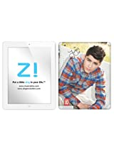 Zing Revolution One Direction Premium Vinyl Adhesive Skin for iPad 2 & iPad 4/3, Zayn Image, MS-1D60351