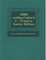 10888 Siddhan'tabin'du